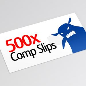 500x Compliment Slips Image